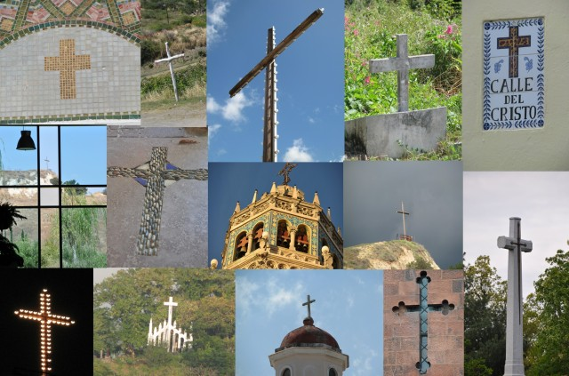 cross collage