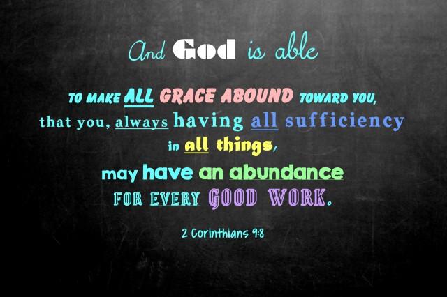 2 Cor 9-8