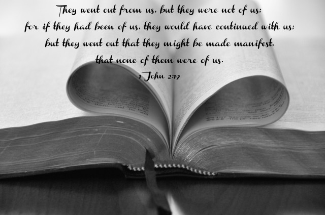 1 John 2-19 B-W